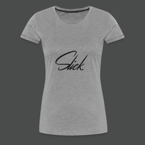 Slick Logo - Women's Premium T-Shirt