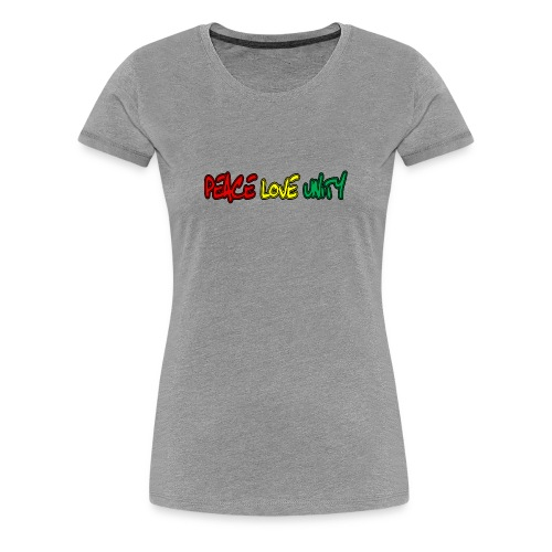 Peace Love Unity - Women's Premium T-Shirt