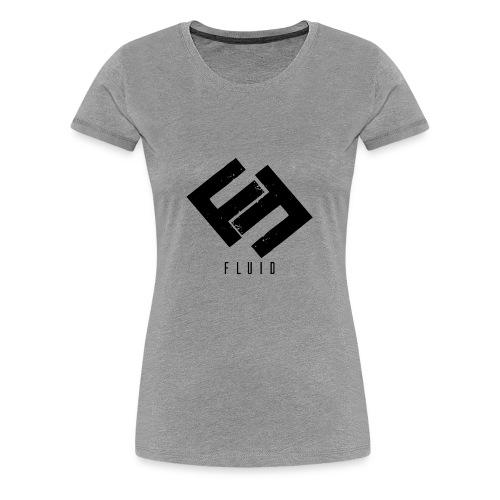 Fluid Logo - Women's Premium T-Shirt