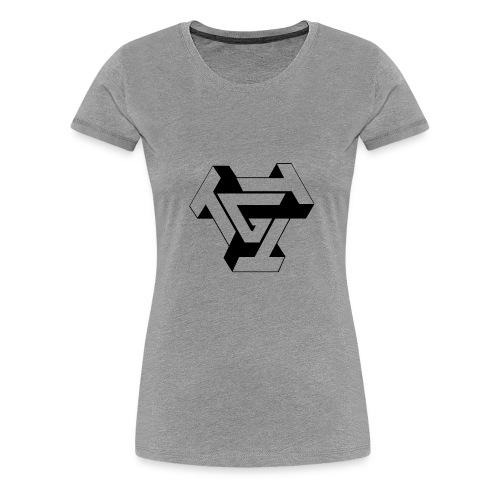 TTTG LOGO in black - Women's Premium T-Shirt
