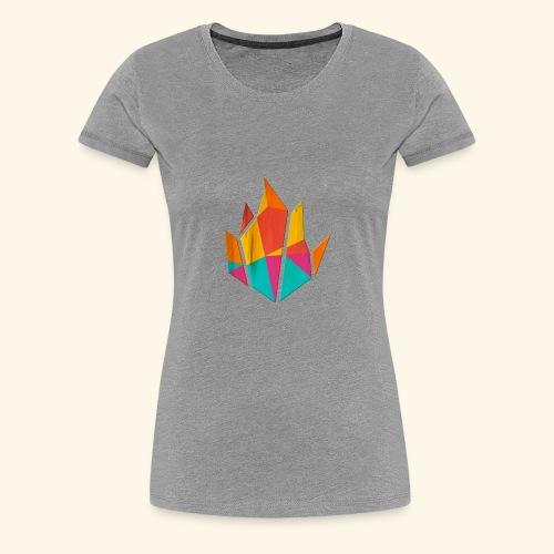 Modern Fire - Women's Premium T-Shirt