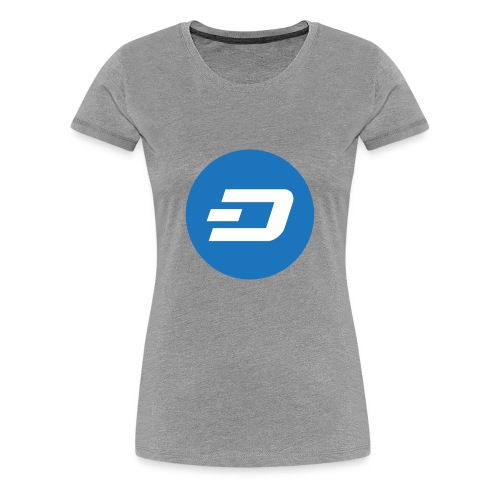 Dash Coin - Women's Premium T-Shirt