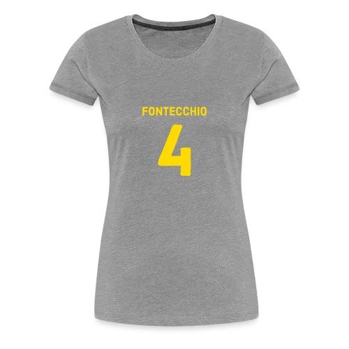 FONTECCHIO NUMBER - Women's Premium T-Shirt