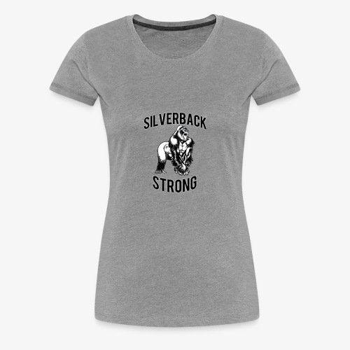 Basic Silverback Strong - Women's Premium T-Shirt