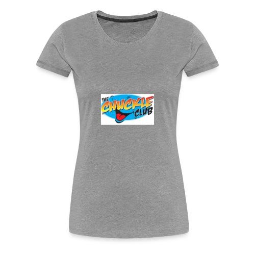 ORIGINAL CHUCKLE CHEESE - Women's Premium T-Shirt