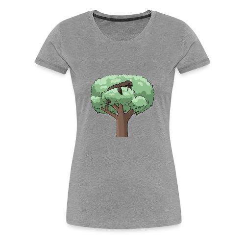 It's a WALRUS.....IN A TREE! - Women's Premium T-Shirt