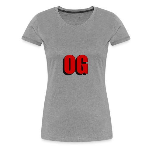 OG merch line - Women's Premium T-Shirt