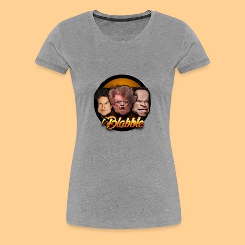 iBlabble - Women's Premium T-Shirt