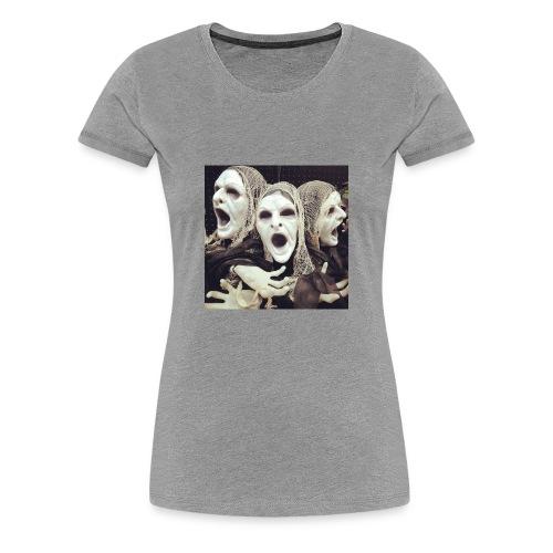 The three scary ghost... - Women's Premium T-Shirt