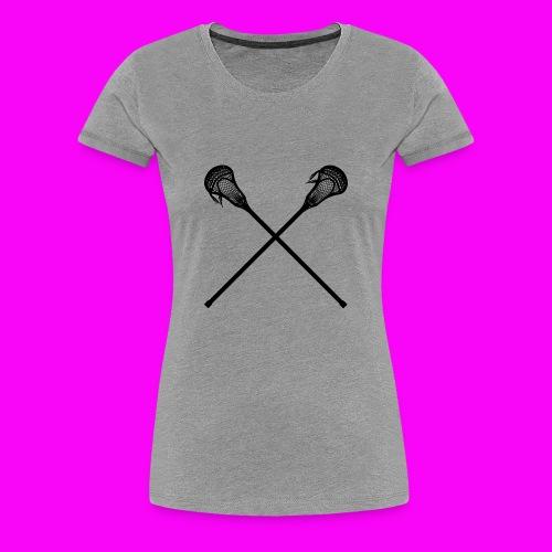 Lacrosse - Women's Premium T-Shirt