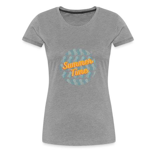 Summer time Pineapple - Women's Premium T-Shirt