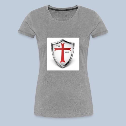 fear less 4 - Women's Premium T-Shirt