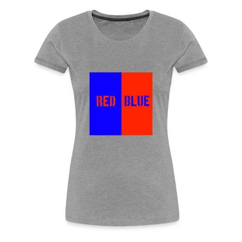 Red Blue Classic - Women's Premium T-Shirt