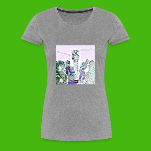 NARLEY BWOY $$$ album cover - Women's Premium T-Shirt