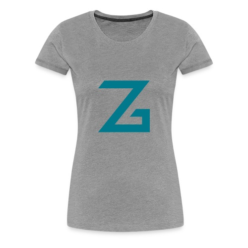 ZzasserGaming - Women's Premium T-Shirt