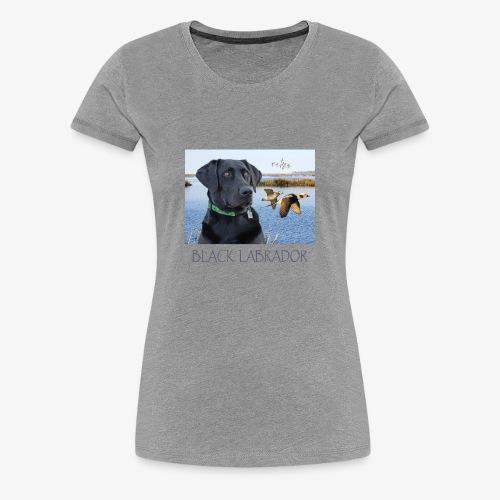 BLACK LABRADOR - Women's Premium T-Shirt