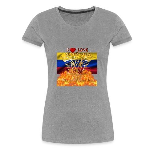Venezuela reborn - Women's Premium T-Shirt