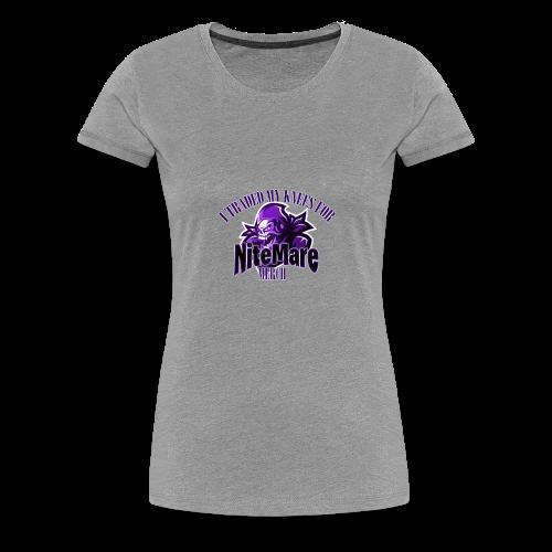 nitemare2 - Women's Premium T-Shirt