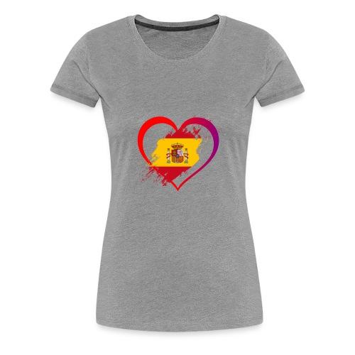 Spain - Women's Premium T-Shirt
