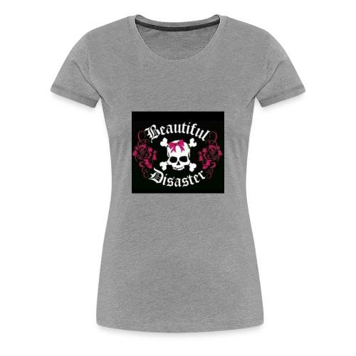 Beautiful Disaster - Women's Premium T-Shirt