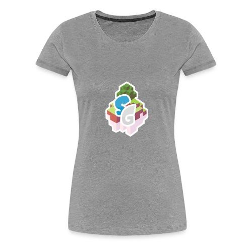 SkyGames Logo MODERN - Women's Premium T-Shirt