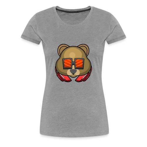 bearmoji - Women's Premium T-Shirt