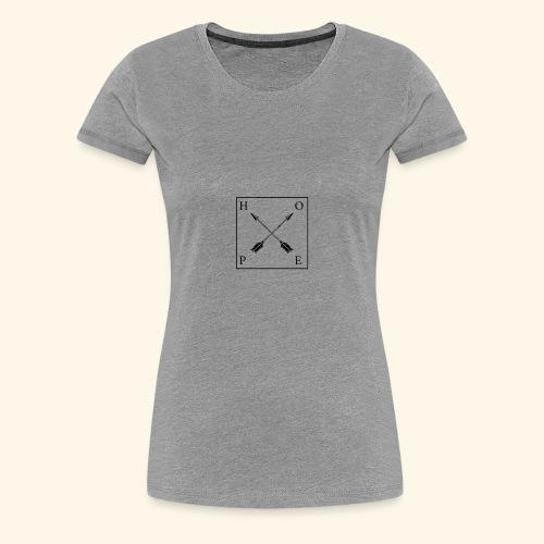 new t shir for summer (hope) - Women's Premium T-Shirt