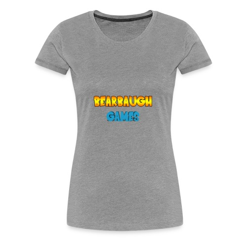 Bearbaugh Text Front - Women's Premium T-Shirt