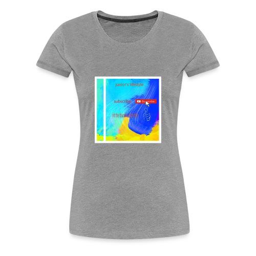 junior's lifestyle merch - Women's Premium T-Shirt