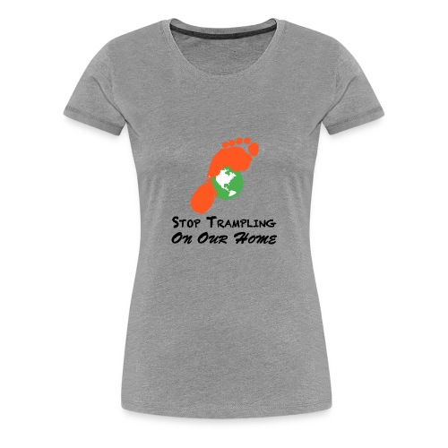 Mean good for the earth - Women's Premium T-Shirt