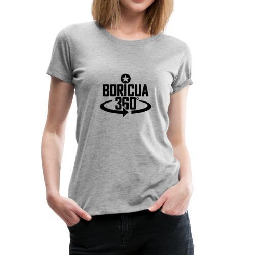 Boricua 360 black - Women's Premium T-Shirt