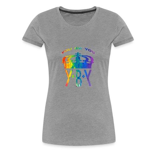 YouBeYou top bend color - Women's Premium T-Shirt