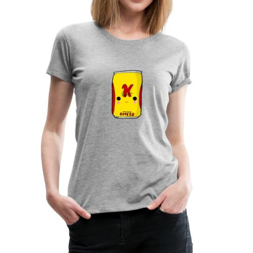 Kawaii Cute Tennants Lager Can - Women's Premium T-Shirt