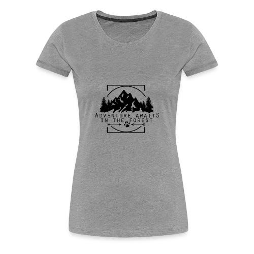 Adventure Awaits - Women's Premium T-Shirt
