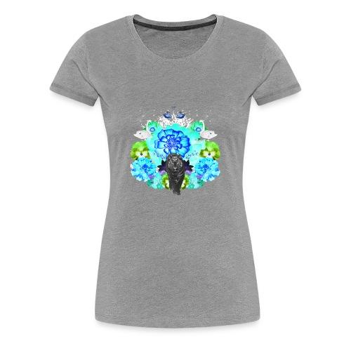 ZENFLUENCED II - Women's Premium T-Shirt