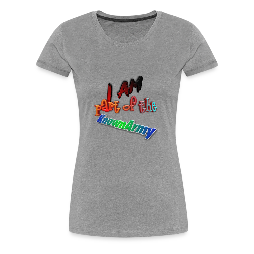 KnownArmy Member - Women's Premium T-Shirt