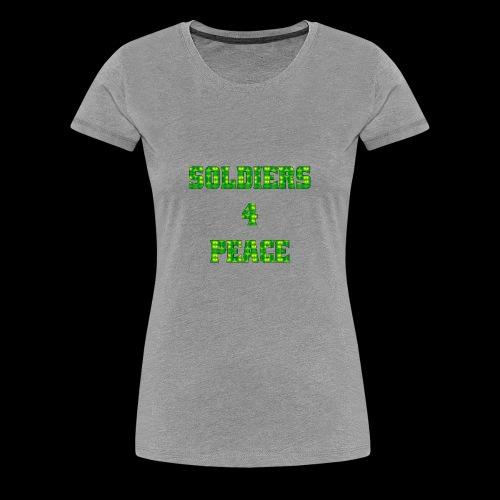 005b Soldiers4Peace - Women's Premium T-Shirt