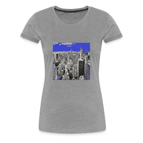 New York the most beautiful city in the world - Women's Premium T-Shirt