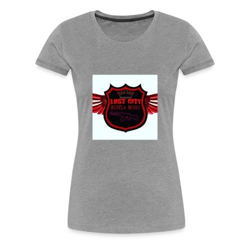Hustle logo - Women's Premium T-Shirt