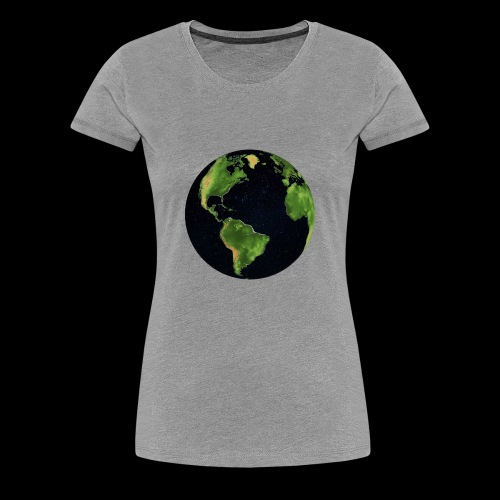 Galactic Earth - Women's Premium T-Shirt