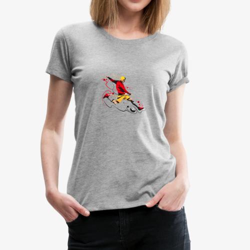 Soccer shirt design - Women's Premium T-Shirt