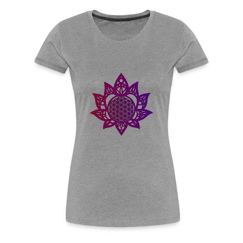 Flower of life beautiful - Women's Premium T-Shirt