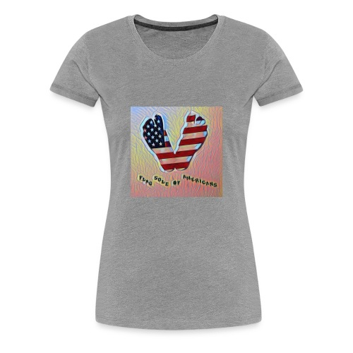 Sole of American - Women's Premium T-Shirt