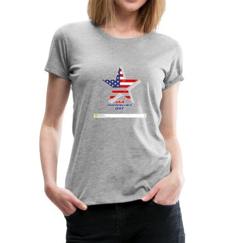 star usa day independencia - Women's Premium T-Shirt