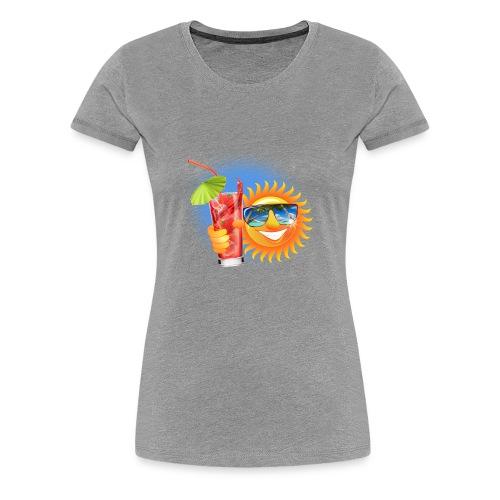Summer Sun - Women's Premium T-Shirt