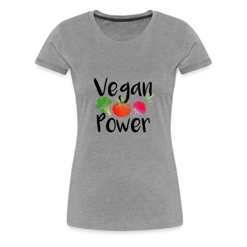 Vegan Power Baby Gift - Women's Premium T-Shirt