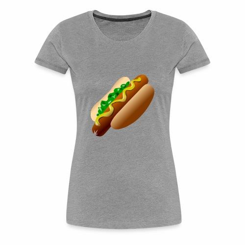 Just a Hot Dog Shirt - Women's Premium T-Shirt