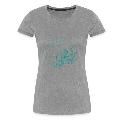 Skinner Camp - Teal Logo - Women's Premium T-Shirt