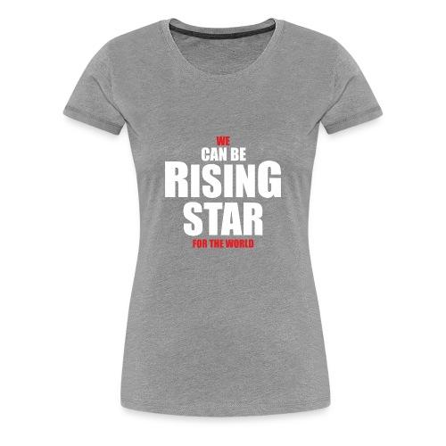 rising star - Women's Premium T-Shirt