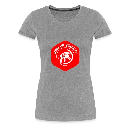 Rise Up Society Logo - Women's Premium T-Shirt